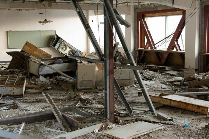 Ruins of the Great East Japan Earthquake Kesennuma City Memorial Museum