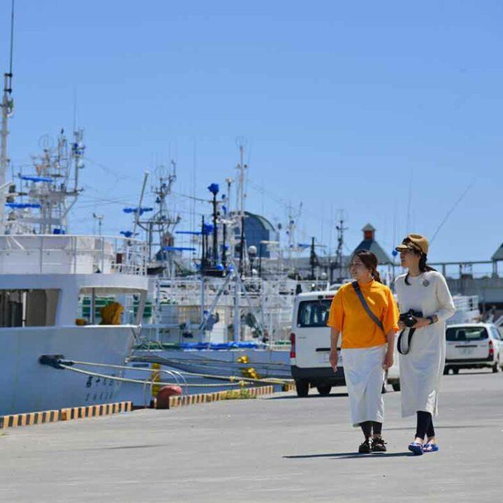 The port of Kesennuma