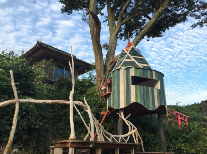 Treehouses in Kesennuma